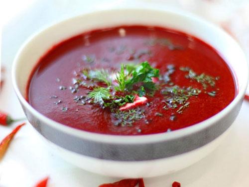 Как сварить суп свекольник на мясном