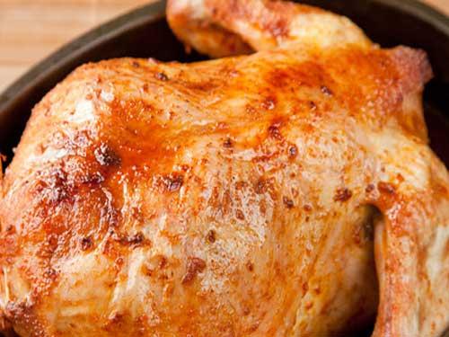 Курица в луке в духовке с корочкой рецепт