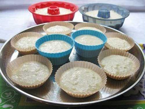 Творожные кексы рецепт в бумажных формочках